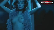 Bianca Balti Bare Boobs in Strip Club – Go Go Tales
