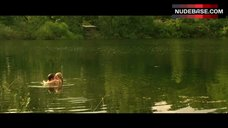 3. Teresa Palmer in Sexy Lingerie Outdoor – Love And Honor