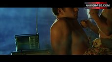 4. Teresa Palmer in Sexy Lingerie Outdoor – Love And Honor