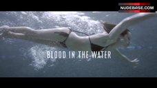 Willa Holland Swims in Poll in Hot Bikini – Blood In The Water