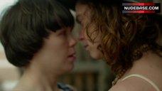 3. Fiona Dourif Lesbian Kiss – When We Rise