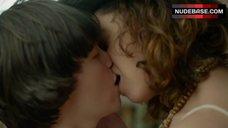 Fiona Dourif Lesbian Kiss – When We Rise
