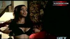 Sanaa Lathan Lingerie Scene – Nip/Tuck