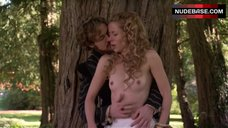 Krystin Pellein Naked Breasts in Forest – The Tudors