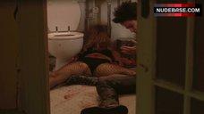 Bijou Phillips Lying Unconscious in Lingerie – Chelsea On The Rocks