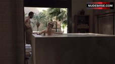 1. Kirstie Alley Nude in Pool – Flaked