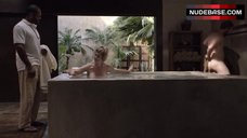 2. Kirstie Alley Nude in Pool – Flaked