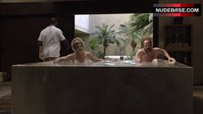 9. Kirstie Alley Nude in Pool – Flaked
