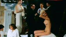 Myriem Roussel Sitting Nude – Passion