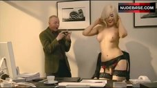 Charlotte Devaney Striptease in Office – How To Lose Friends And Alienate People