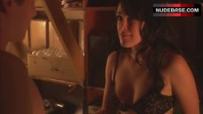 Rumer Willis Tits in Bra – Wild Cherry
