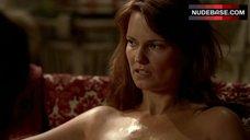 7. Danielle Sapia Cunnilingus Scene – True Blood