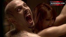 9. Danielle Sapia Blowjob during Watching Porn – True Blood