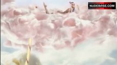 1. Katy Perry Lying Nude on Cloud – California Gurls