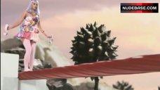 5. Katy Perry Lying Nude on Cloud – California Gurls