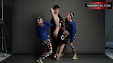 1. Katy Perry Side Boob – Katy Perry And Jeremy Scott For Moschino Fall/Winter 2015