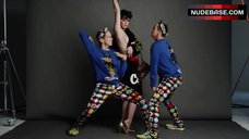 4. Katy Perry Side Boob – Katy Perry And Jeremy Scott For Moschino Fall/Winter 2015