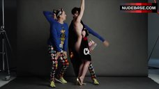 8. Katy Perry Side Boob – Katy Perry And Jeremy Scott For Moschino Fall/Winter 2015