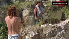 7. Sylvia Jefferies Topless on Beach – Eastbound & Down