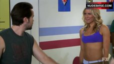 Brittany Daniel Sexy in Sports Bra – It'S Always Sunny In Philadelphia