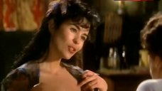 2. Maria Conchita Alonso Bare Tits and Butt – The House Of The Spirits