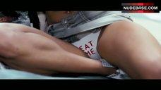 Emma Roberts Flashes Panties – 4.3.2.1