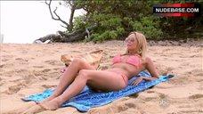 1. Kym Johnson Bikini Scene – Dancing With The Stars