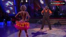 1. Kym Johnson in Shine Bra – Dancing With The Stars