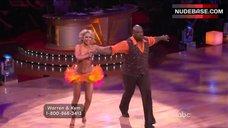 2. Kym Johnson in Shine Bra – Dancing With The Stars