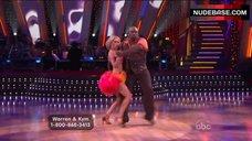 3. Kym Johnson in Shine Bra – Dancing With The Stars