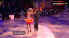 6. Kym Johnson in Shine Bra – Dancing With The Stars
