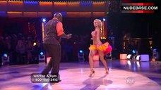 7. Kym Johnson in Shine Bra – Dancing With The Stars