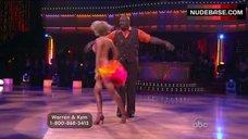 8. Kym Johnson in Shine Bra – Dancing With The Stars