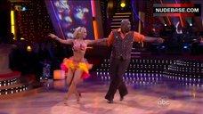 9. Kym Johnson in Shine Bra – Dancing With The Stars