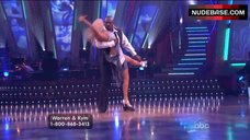 10. Kym Johnson Upskirt on Stage – Dancing With The Stars