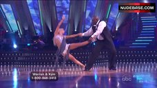 6. Kym Johnson Upskirt on Stage – Dancing With The Stars