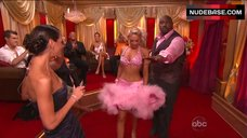 1. Kym Johnson Hot in Pink Bra – Dancing With The Stars