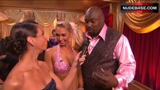 2. Kym Johnson Hot in Pink Bra – Dancing With The Stars