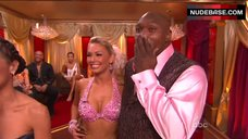 4. Kym Johnson Hot in Pink Bra – Dancing With The Stars