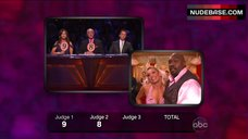 6. Kym Johnson Hot in Pink Bra – Dancing With The Stars