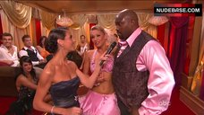 9. Kym Johnson Hot in Pink Bra – Dancing With The Stars