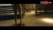 3. Tania Raymonde Sexy in Bra and Thong – Texas Chainsaw 3D