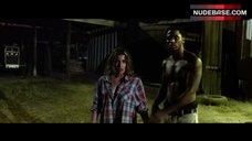 1. Tania Raymonde Ass in Thong – Texas Chainsaw 3D