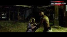 2. Tania Raymonde Ass in Thong – Texas Chainsaw 3D