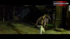 3. Tania Raymonde Ass in Thong – Texas Chainsaw 3D