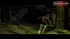 5. Tania Raymonde Ass in Thong – Texas Chainsaw 3D