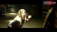 8. Tania Raymonde Ass in Thong – Texas Chainsaw 3D