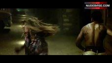 9. Tania Raymonde Ass in Thong – Texas Chainsaw 3D