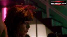 3. Maria Zyrianova Topless Stripper – Dexter