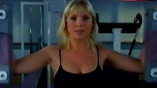 Samantha Womack Hot in Sports Bra – Up 'N' Under
